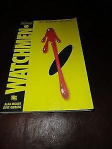 The Watchmen By Gibbons and Moore Graphic Novel Paperback