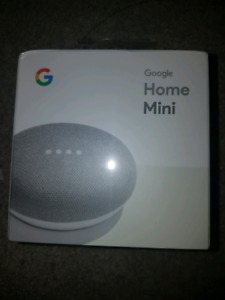 Google home mini- brand new, sealed