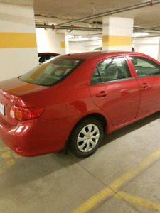 2010 Red Toyota Corolla