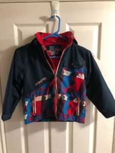Boys Spring Jacket with fleece liner —Size 4/5T