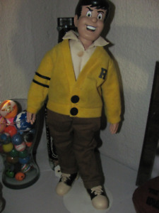 Archie Doll - Reggie from Archie (1987) with Stand