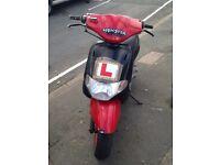 Derbi 50cc scooter