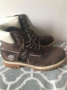 Timberland Men's I  - Waterproof Chocolate Brown-Men Size 9