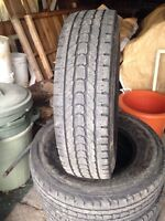 Firestone Winterforce LT 235/80R/17 snowflake