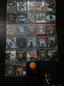 PS3 Console/Games for sale in group or individually