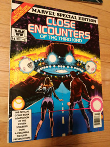 Close Encounters of the third kind giant comic