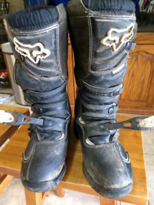 Motocross Boots Fox Comp 5 sz 7
