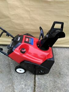 Toro CCR2450GTS snowblower snowblower 5HP two stroke engine. 20""