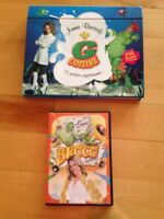 Annie Brocoli DVD and cookbook with DVD included