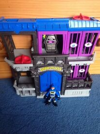 Imaginex batman Gotham city jail