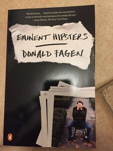 EMINENT HIPSTERS by Donald Fagen - NEW BOOK