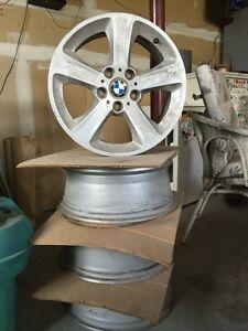 BMW alloy rims.