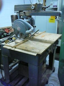 "14""Rockwell double radial arm saw"