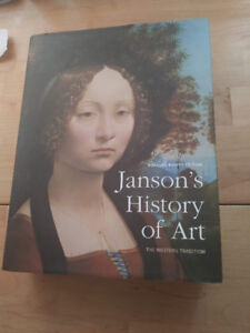 Janson's History of Art textbook, reissued 8th edition