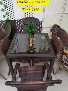 Outdoor Furniture / Patio Furniture On Clearance Sale