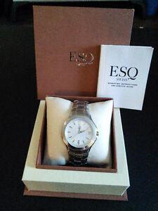 ESQ by Movado Men's Two-Tone Watch