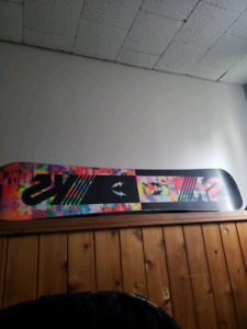 Subculture board and RIDE bindings