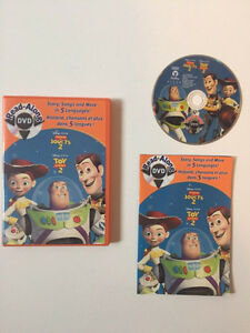 Toy story 2 read a long DVD
