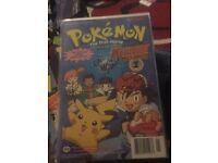 Pokemon signed comic