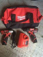 M12 impact drill and screw gun