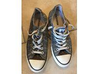 Converse shoes. UK Size 6 .