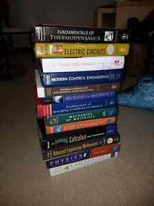 Mechanical Engineering Textbooks  ($20 each)