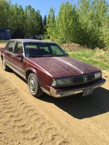 For Sale:  1988 Olds 98 Regency Brougham, $1850.00 OBO