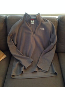 Men's North Face Polartec Fleece Sweater - Large
