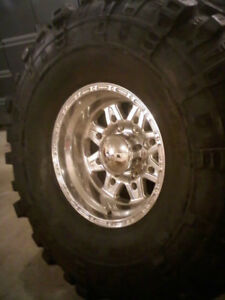 Ford F250 f350 rims and tires