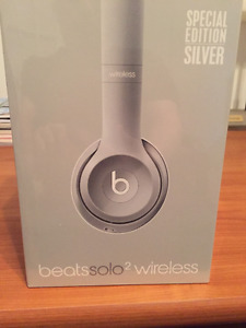 Beats Solo2 Wireless - Special Edition - Silver