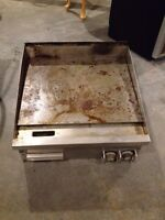"24"" propane griddle"