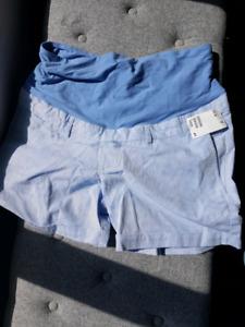 Brand new H&M maternity shorts