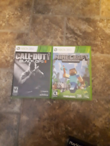 Black ops,minecraft,ratchet and clank