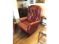 Electric leather Lazy Boy chair