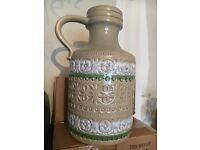 West German pottery urn / vase