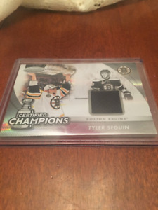 Tyler Seguin Exclusive Certified Champion Card