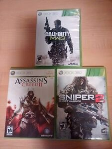 3 XBOX 360 Games for $15