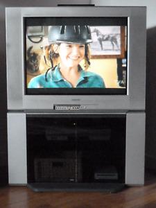 Téléviseur Sony et meuble