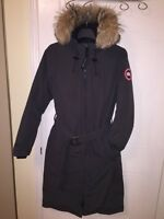 AUTHENTIC CANADA GOOSE WHISTLER PARKA GRAPHITE XS