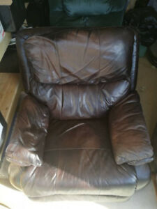 Cheap Leather Recliner!