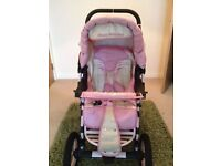 PUSHCHAIR STROLLER NATALIE BY TAKO - HARDLY USED - CAN DELIVER