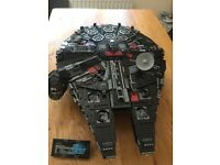 Lego Star Wars 10179 Millennium Falcon - black 'battle damaged'