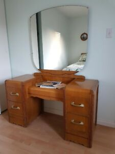 Antique Vanity & bench