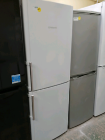 White Hotpoint fridge freezer 3 drawers 3 months warranty at Recyk