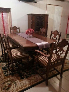 Antique Dining Set by Berkey and Gay Co.