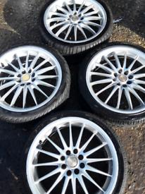 "17"" Focus mk1, B-Max, Fiesta, Ecosport, Puma alloy wheels (360)"