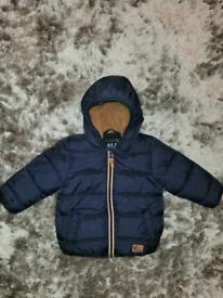 Next baby boys winter jacket 9‐12 months