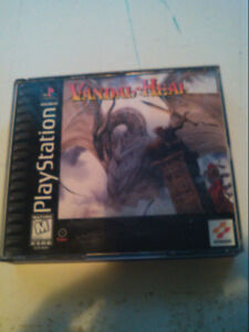 Sony Playstation 1 PS1 RPG Vandal Hearts complete
