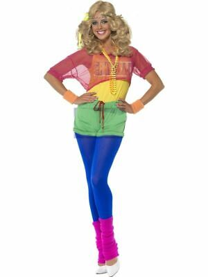 Let's Get Physical - 80's Adult Female Costume - Female 80s Costumes