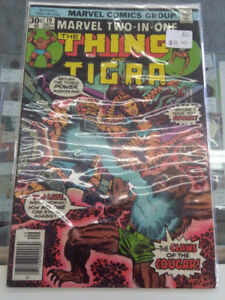 Marvel Two In One The Thing and Tigra Comic #19